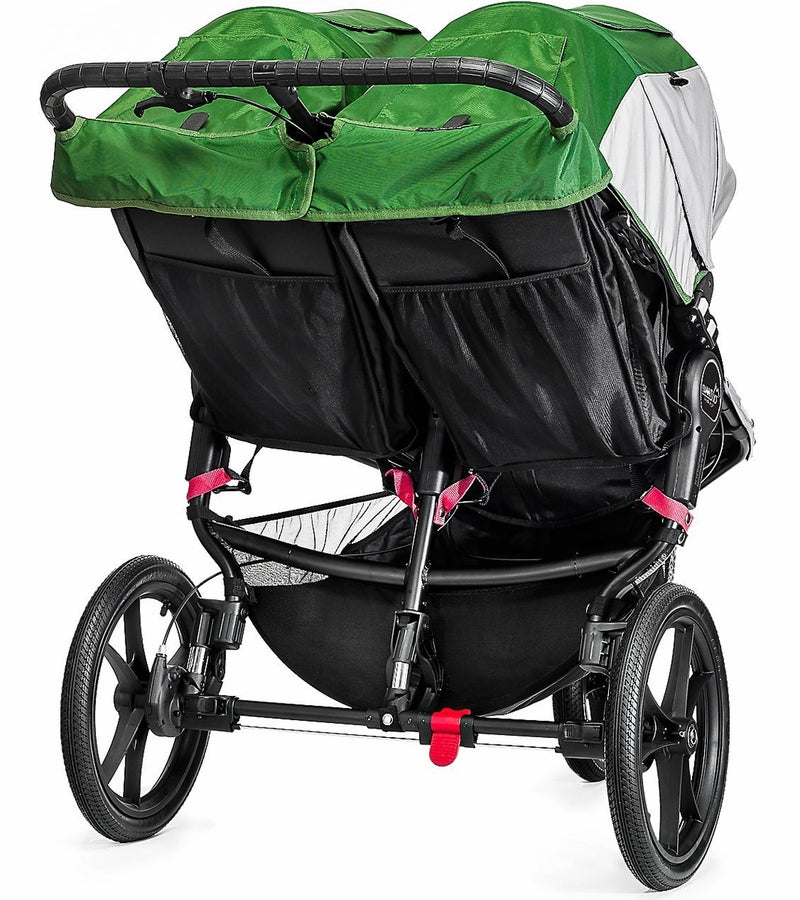 Baby Jogger 2016 Summit X3 Double Jogging Stroller - Green / Gray