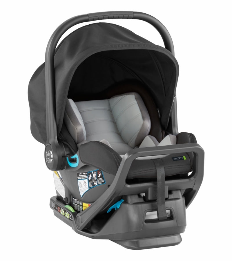Baby Jogger City Select + City GO 2 Travel System - Jet