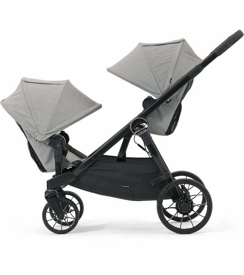 Baby Jogger City Select LUX Double Stroller - Slate