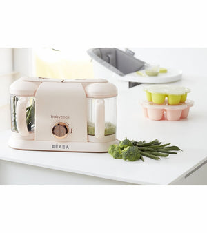 Beaba Babycook Plus Baby Food Maker in Rose Gold