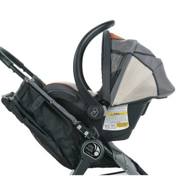 Baby Jogger Car Seat Adapter- Mounting Bracket- Single- Cybex/Maxi Cosi