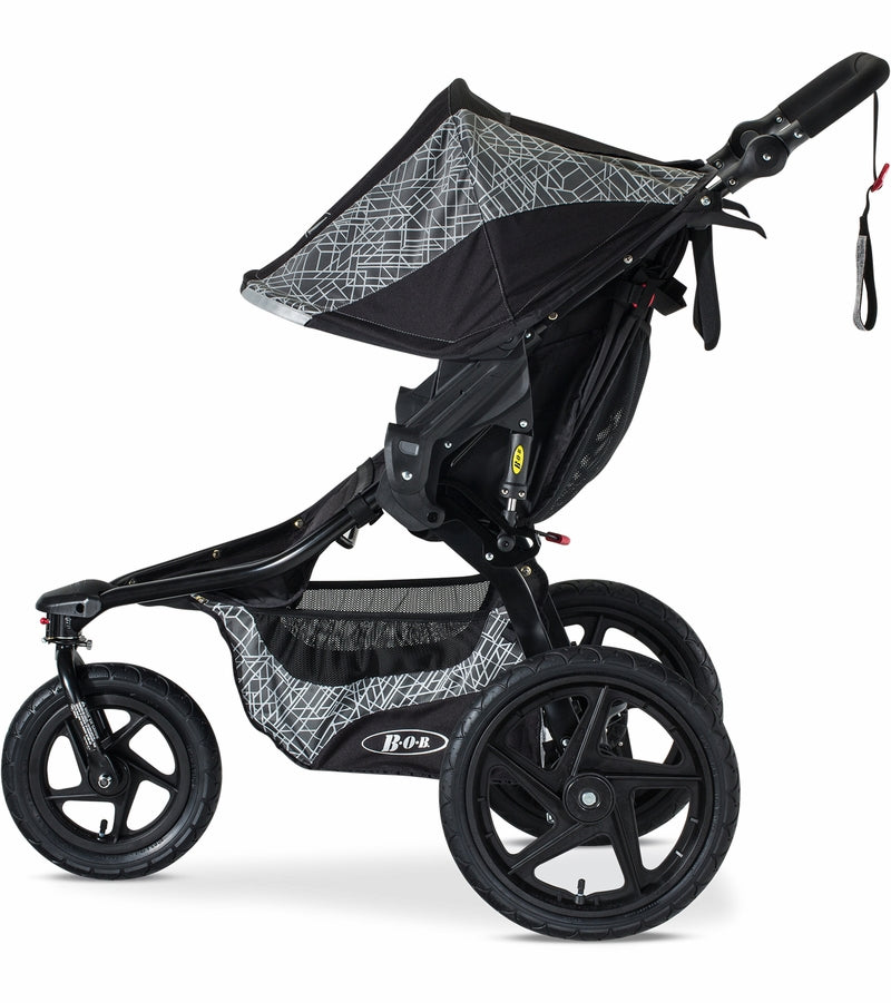 BOB Revolution Flex 2017 Single Stroller - Lunar
