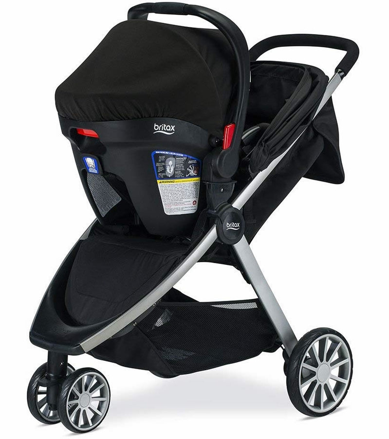 Britax B-Lively & B-Safe Ultra Travel System - Noir
