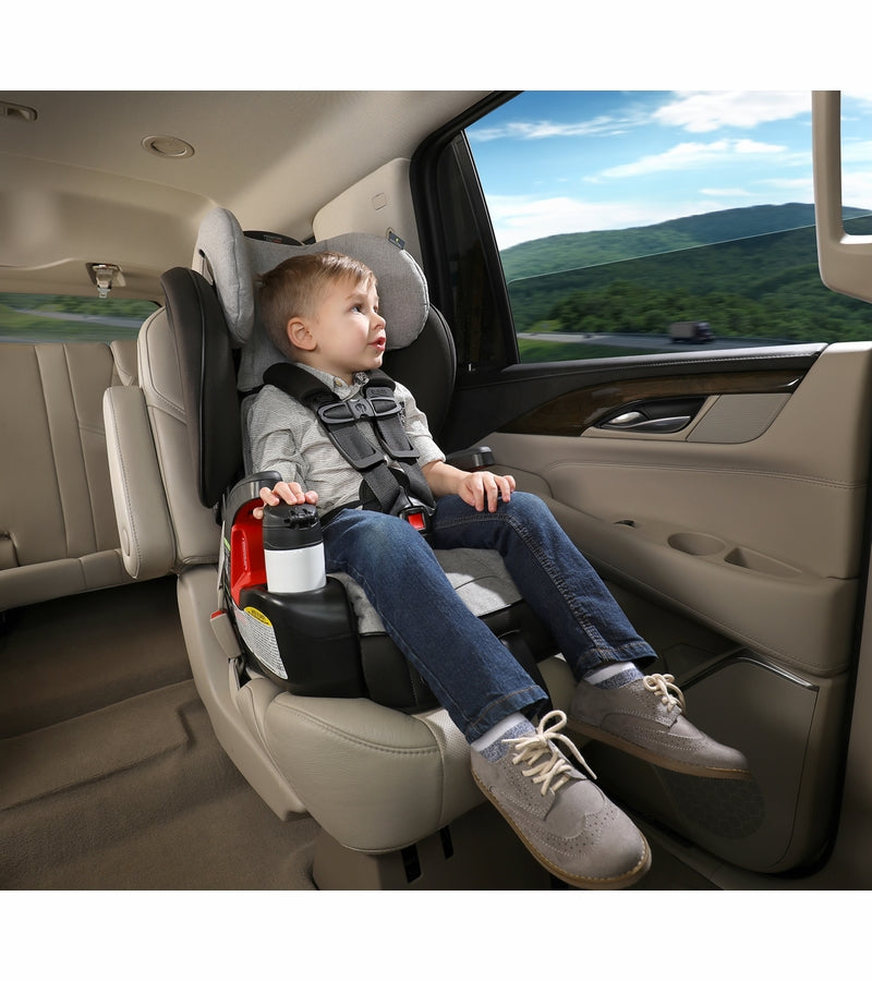 Britax Frontier ClickTight Booster Car Seat - Nanotex (Moisture, Odor, and Stain Resistant Fabric)