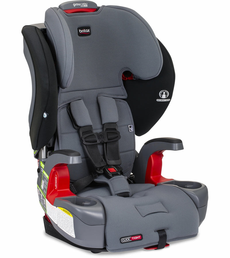 Britax Grow With You ClickTight Harness Booster Car Seat - Otto SafeWash