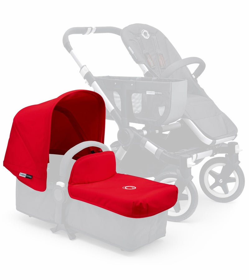 Bugaboo Donkey Extendable Tailored Fabric Set, Red