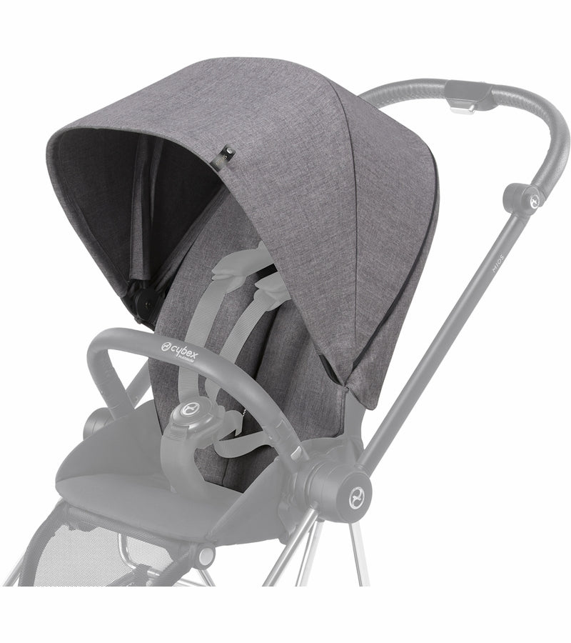 Cybex Mios Plus Color Pack/Comfort Inlay - Manhattan Grey +