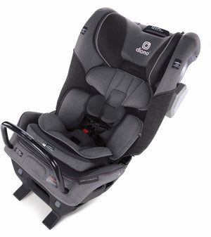 Diono Radian 3QXT Ultimate 3 Across All-in-One Convertible Car Seat - Gray Slate