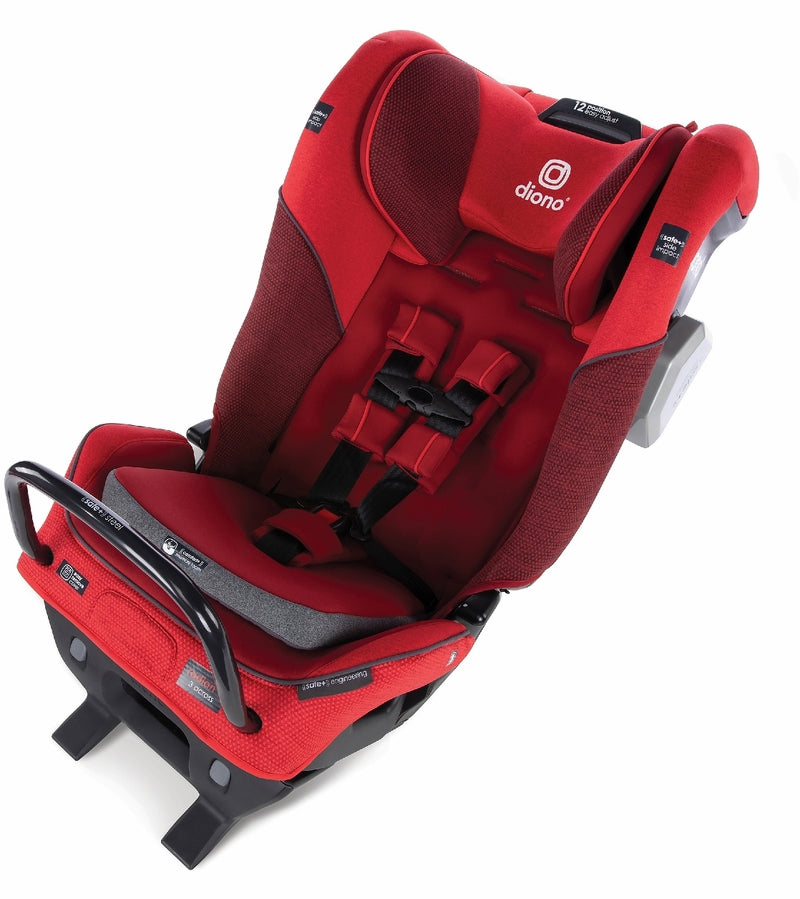 Diono Radian 3QXT Ultimate 3 Across All-in-One Convertible Car Seat - Red Cherry