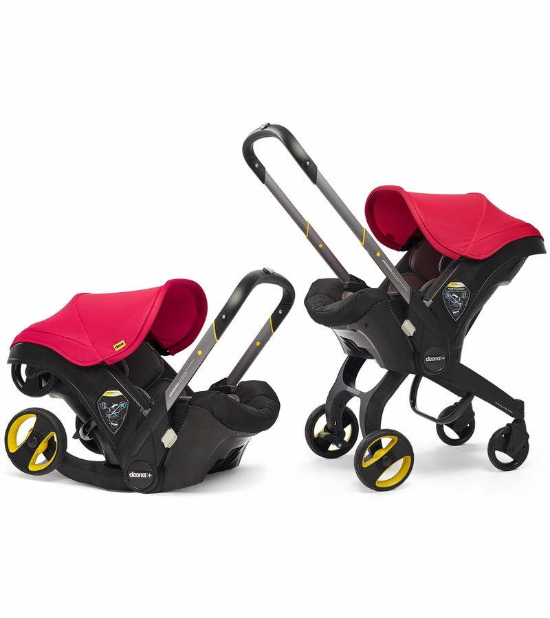 Doona+ Infant Car Seat - Flame Red