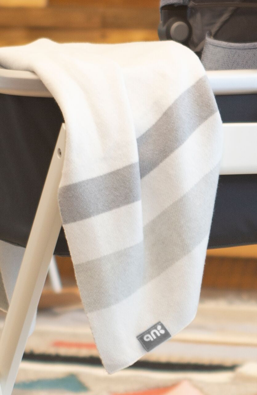 UPPAbaby 2019 Knit Blanket - Grey Multi/Plaid
