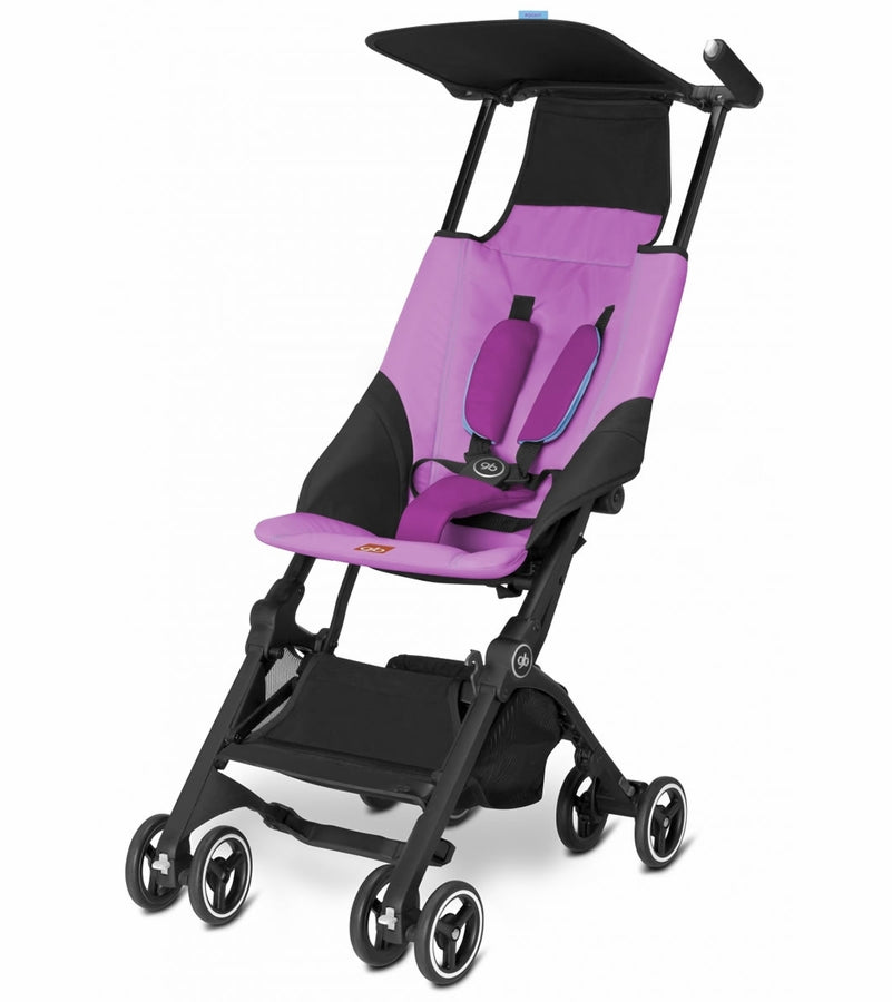 GB Pockit Compact Stroller - Posh Pink
