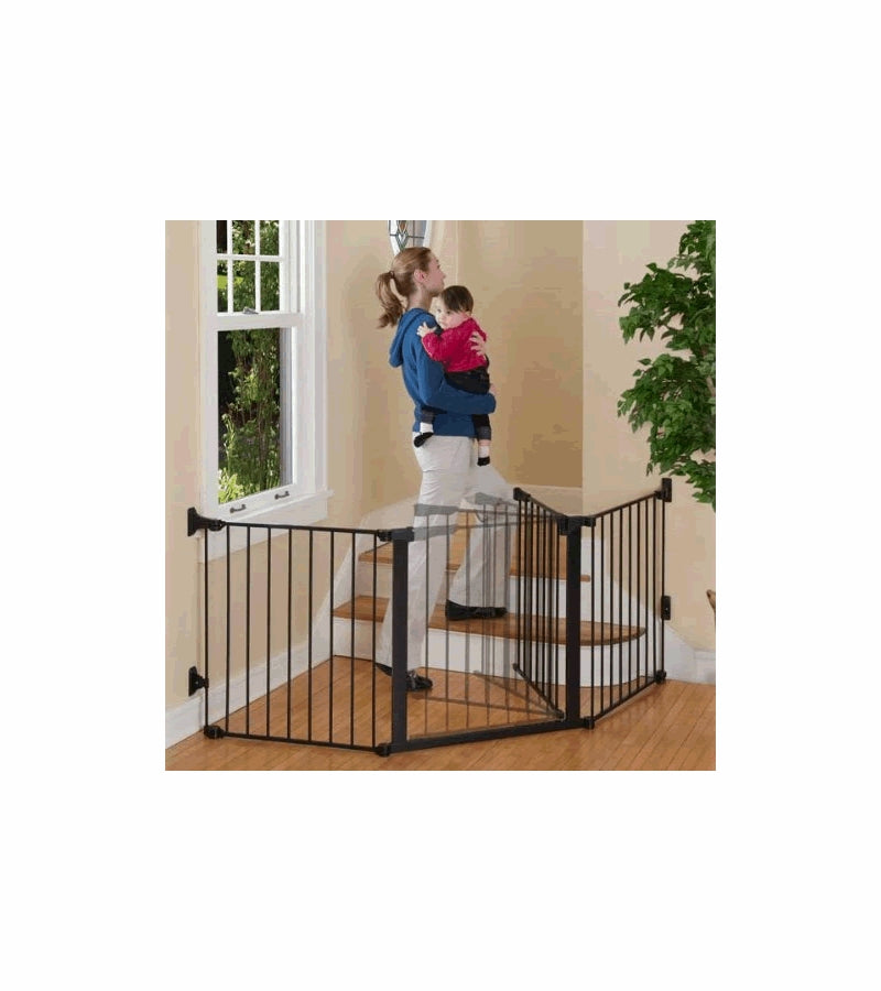 Kidco Auto Close Configure Gate - Black