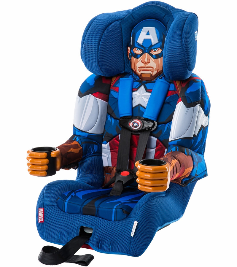 KidsEmbrace Combination Booster Car Seat - Captain America