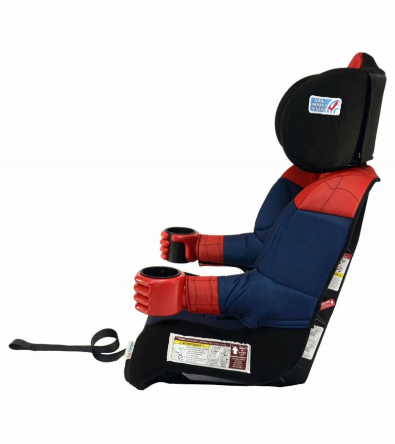 KidsEmbrace Combination Booster Car Seat - Ultimate Spider-Man, Black