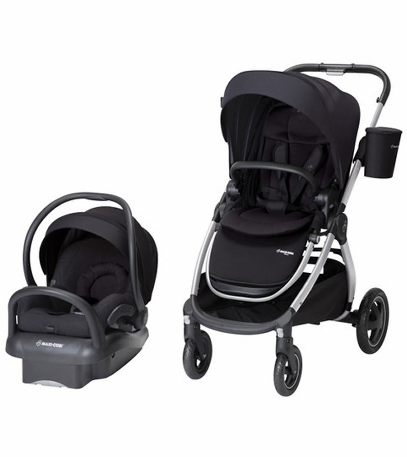 Maxi-Cosi Adorra Travel System - Night Black
