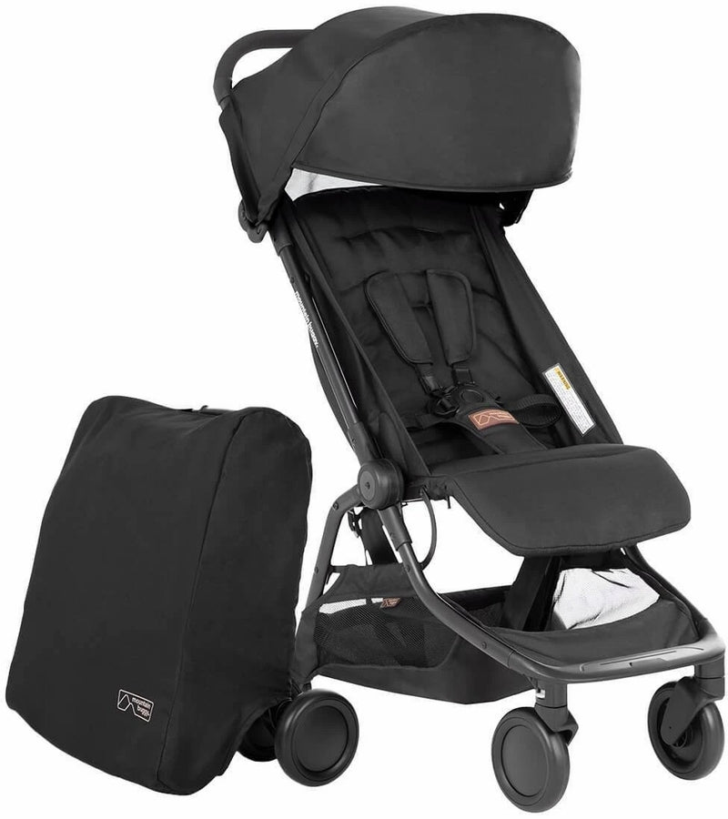 Mountain Buggy 2020 Nano Stroller - Black