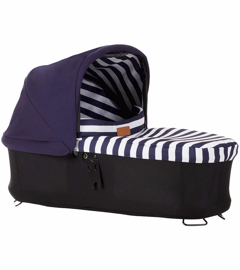 Mountain Buggy Carrycot Plus for Urban Jungle, Terrain & Plus One Strollers - Nautical