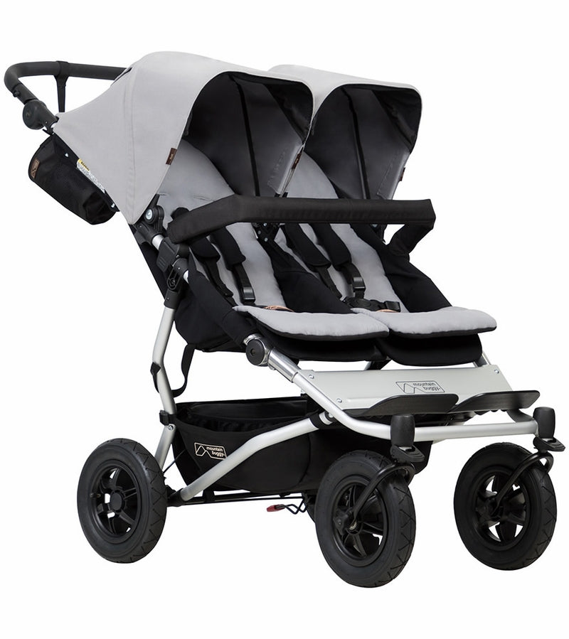 Mountain Buggy Duet 3.0 Double Stroller - Silver