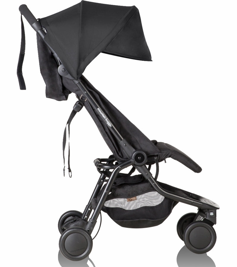 Mountain Buggy Nano V2 Stroller - Black
