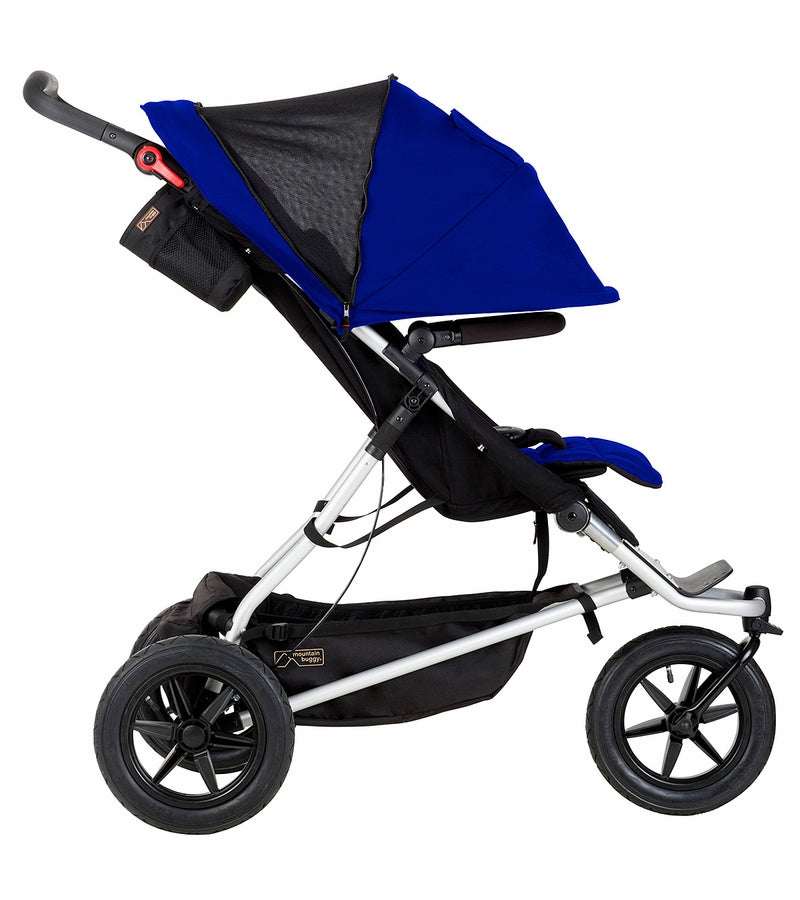 Mountain Buggy Plus One Double Stroller - Berry