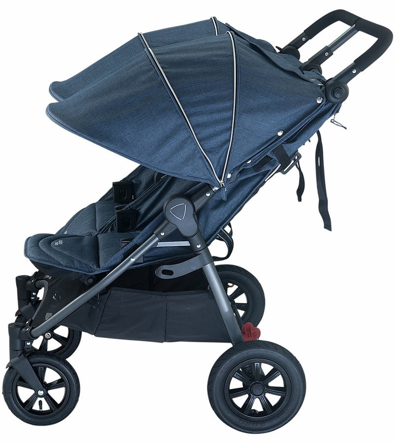 Valco Neo Twin Tailormade Double Stroller - Denim Blue