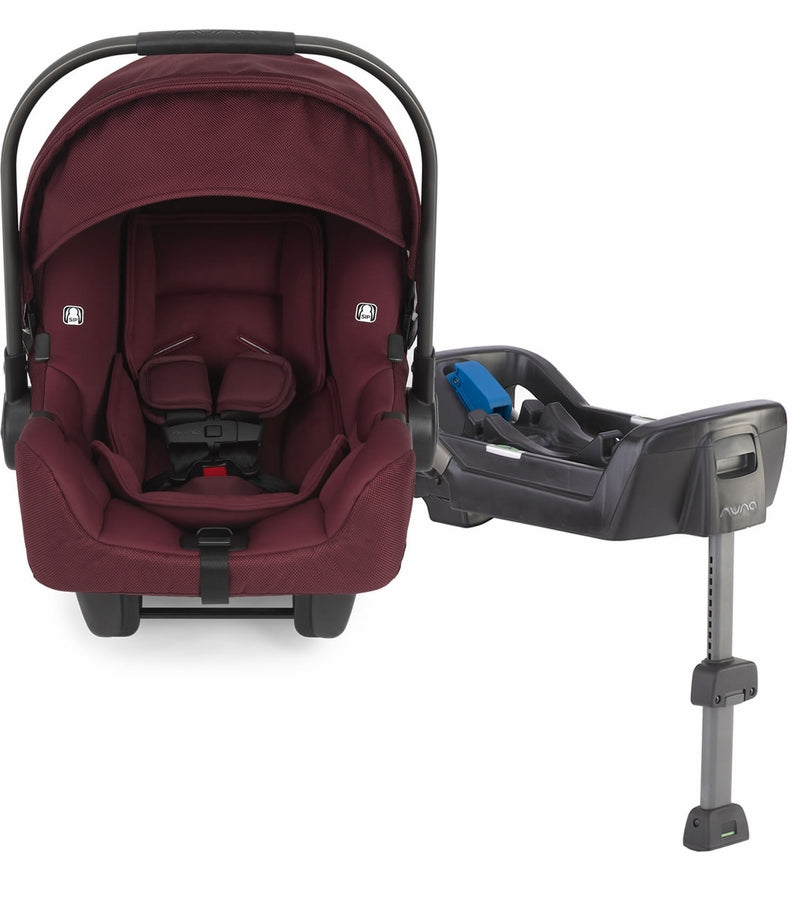 Nuna Pipa Infant Car Seat and Base - Berry