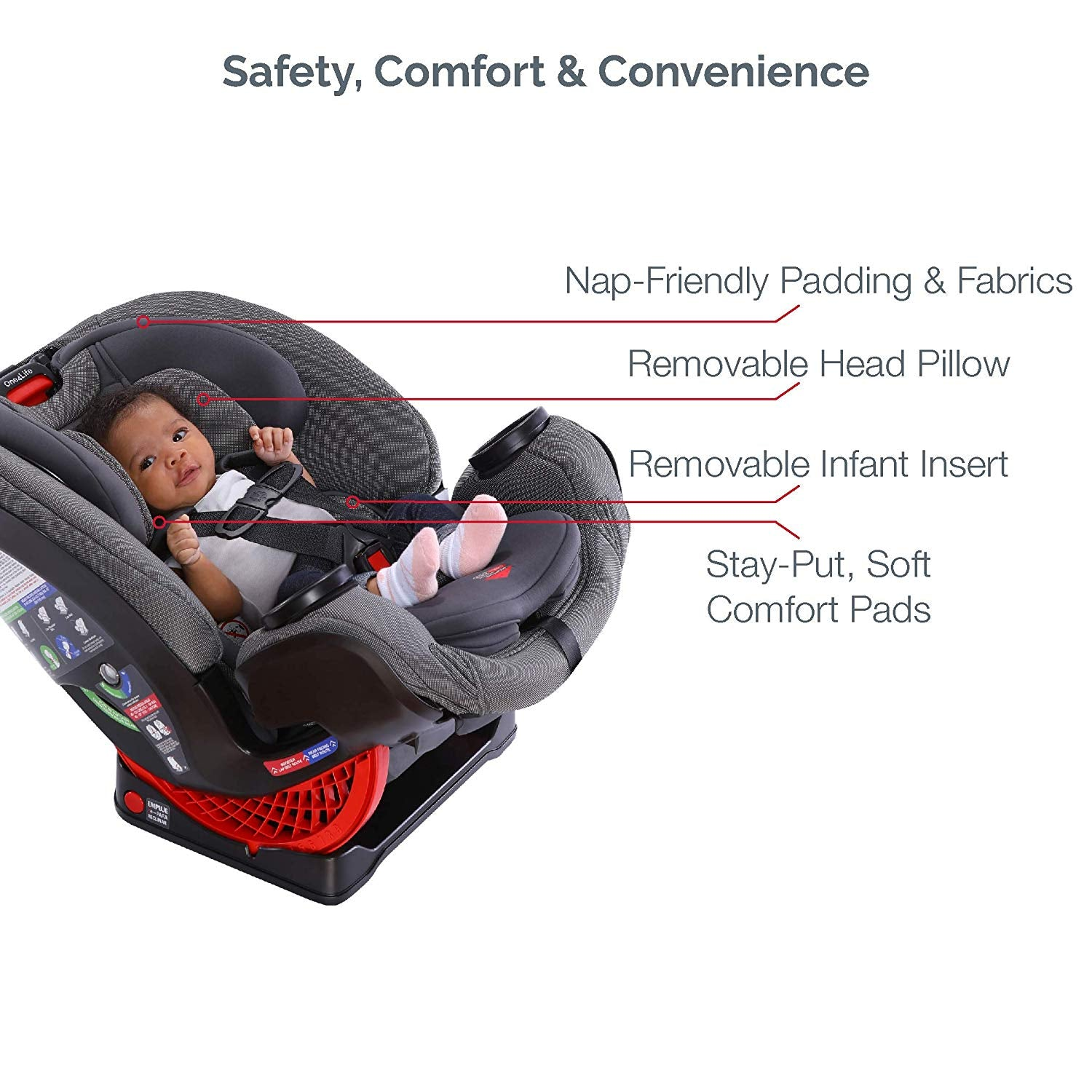 Britax One4Life All-in-One Car Seat - Plum