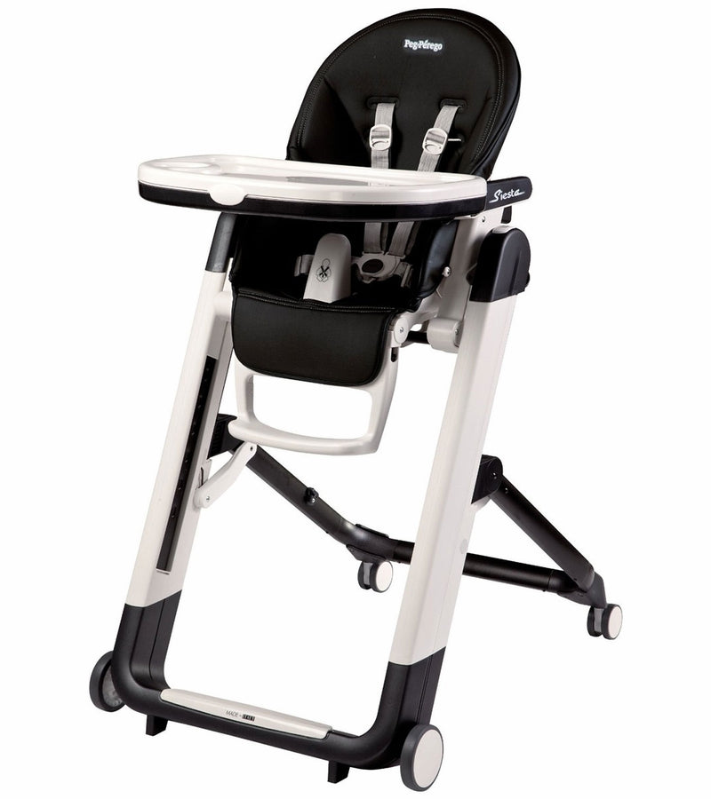 Peg Perego Siesta High Chair- Licorice Black