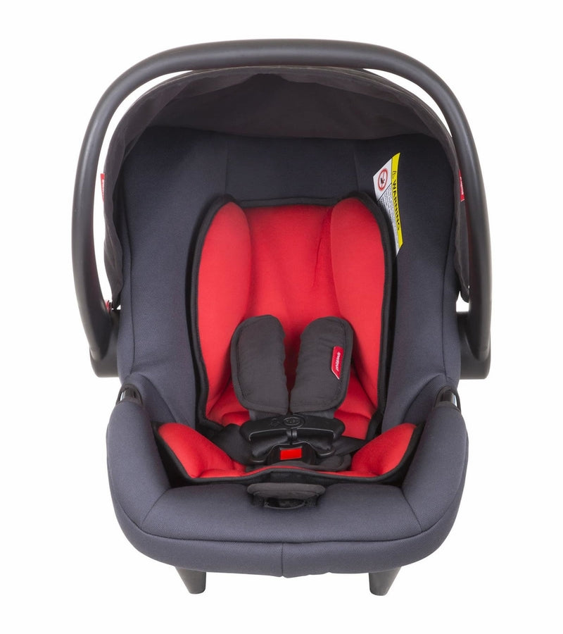 Phil & Teds Alpha Infant Car Seat - Black/ Red