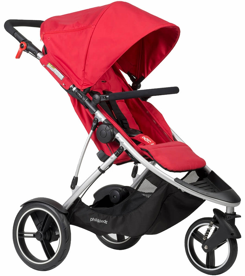 Phil & Teds 2015 Dash Stroller - Red