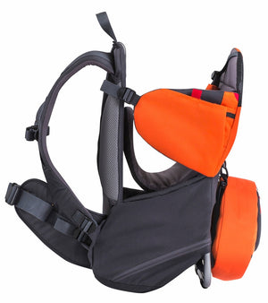 Phil & Teds Parade Backpack Baby Carrier - Orange / Grey