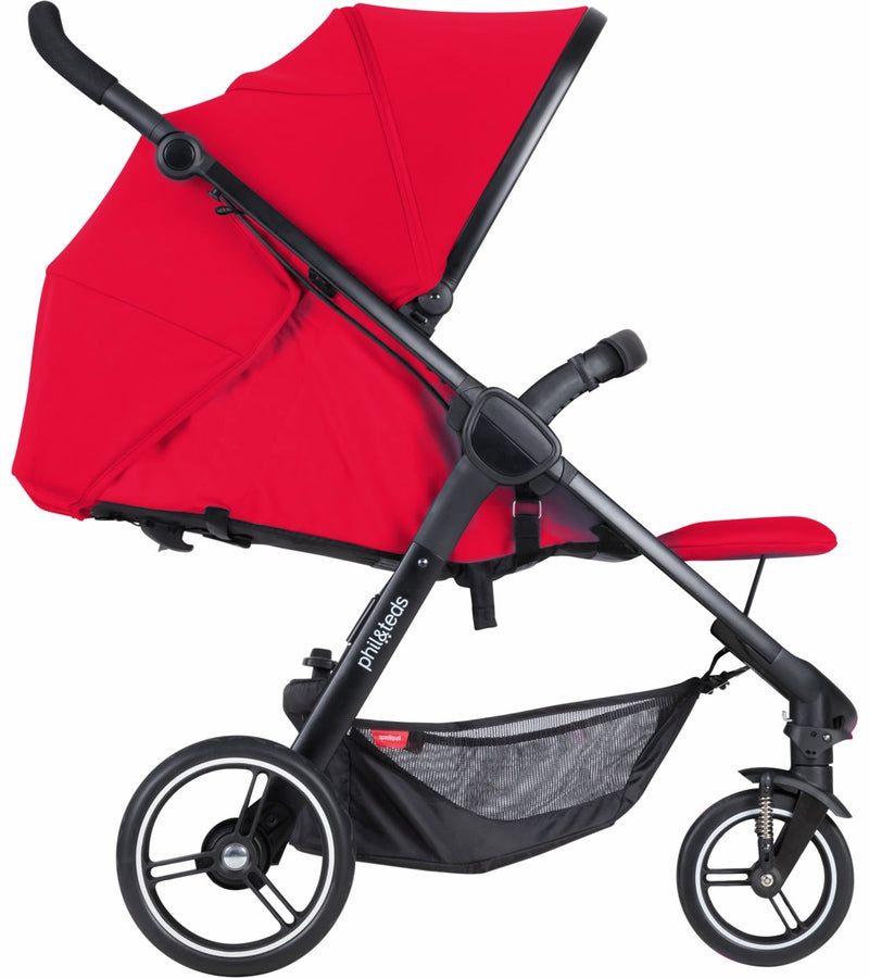 Phil & Teds Smart Buggy V3 - Cherry