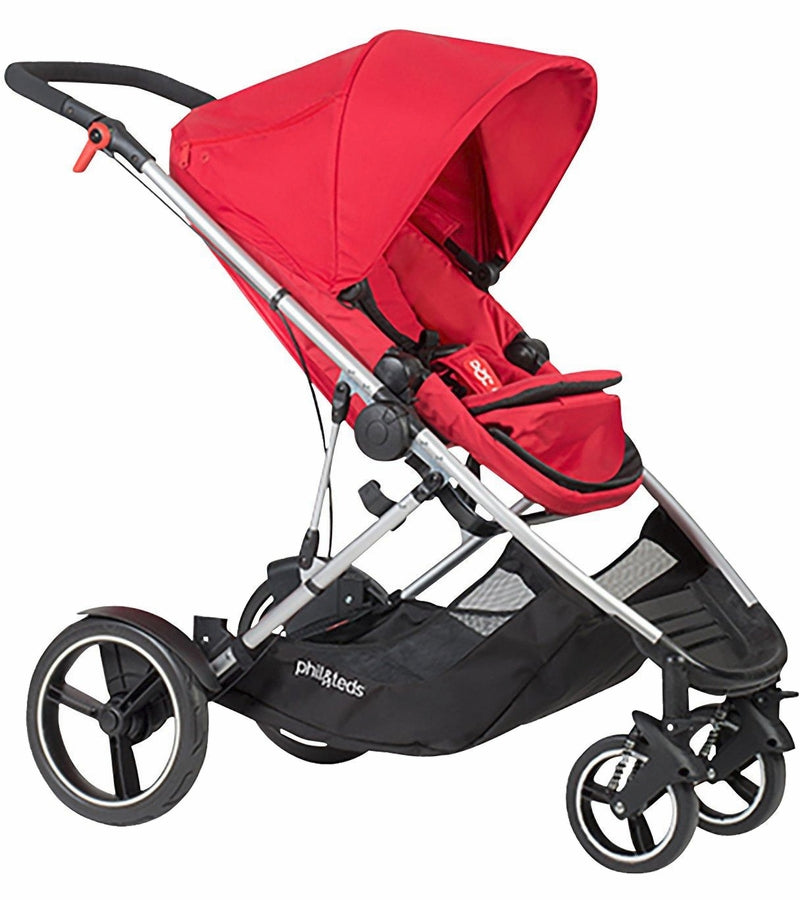 Phil & Teds Voyager Stroller - Red