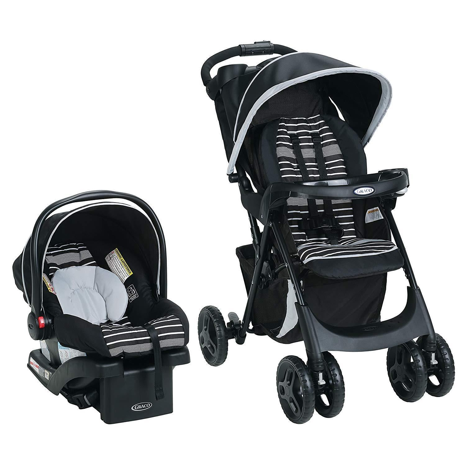 Graco Comfy Cruiser Click Connect Travel System - Conrad