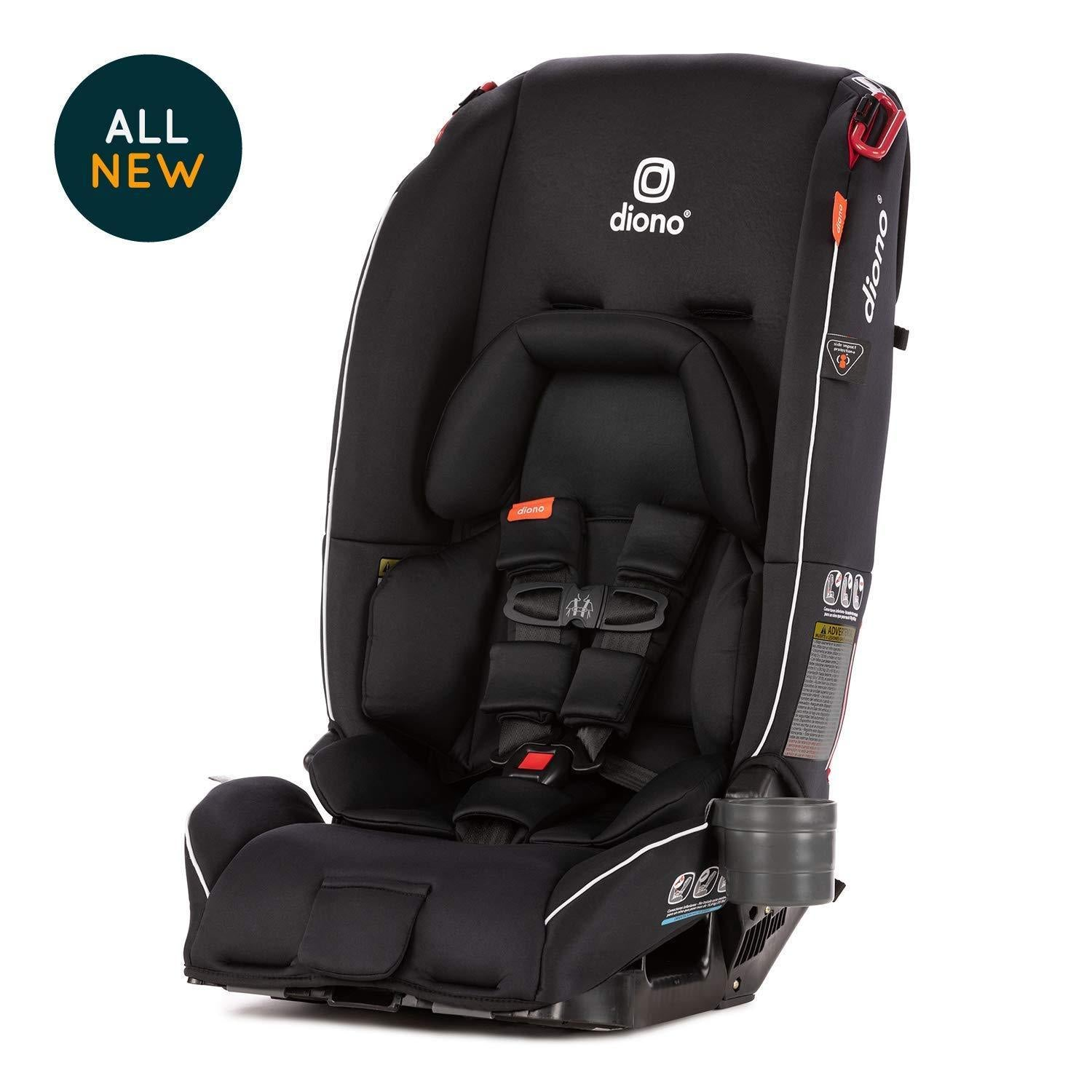 Diono Radian 3 RX Convertible Car Seat in Black