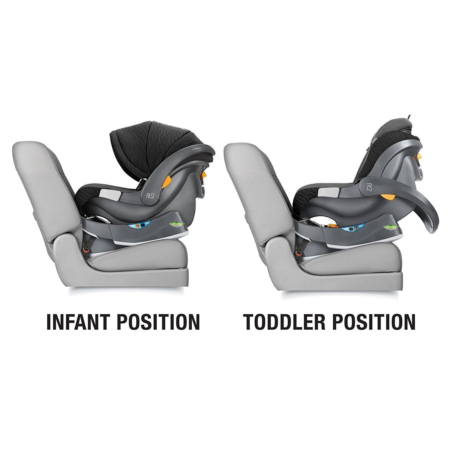 Chicco Fit2 Rear-Facing Infant & Toddler Car Seat - Arietta