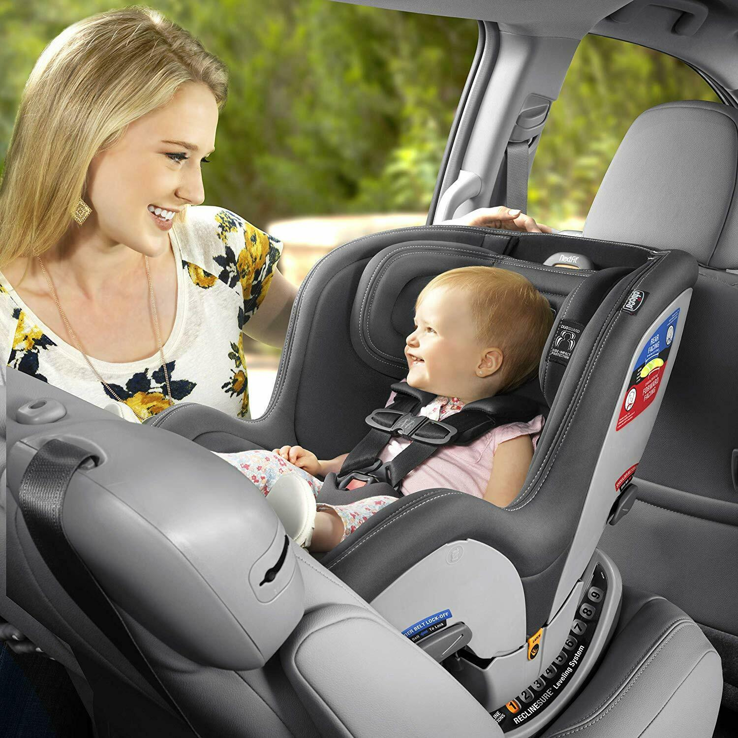 Chicco NextFit Sport Convertible Car Seat - Black