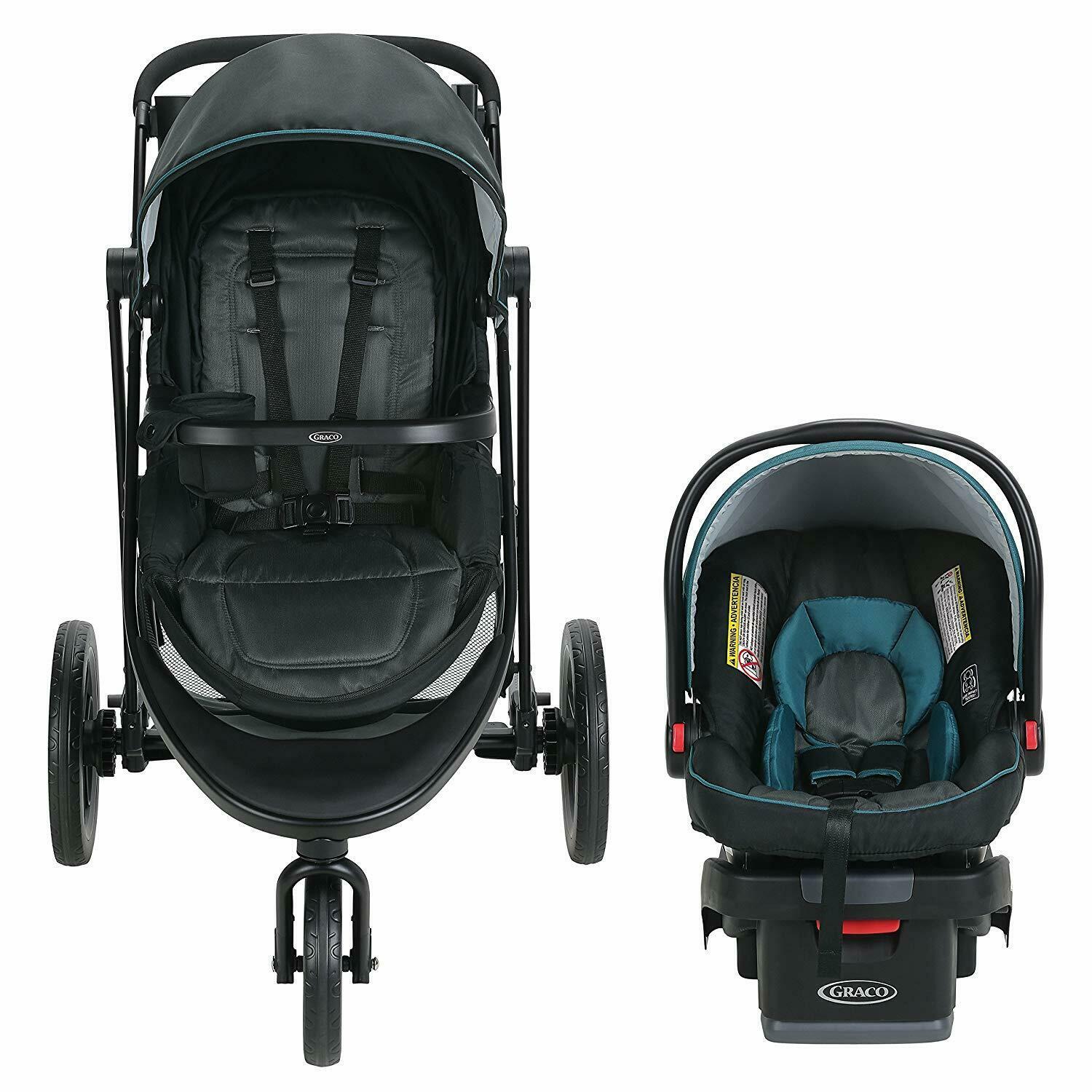 Graco Modes 3 Essentials LX Travel System in Sapphire