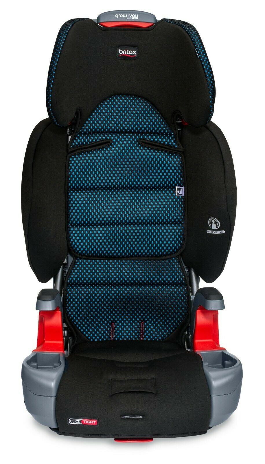 Britax Grow With You Plus ClickTight Booster Car Seat - Cool Flow Teal
