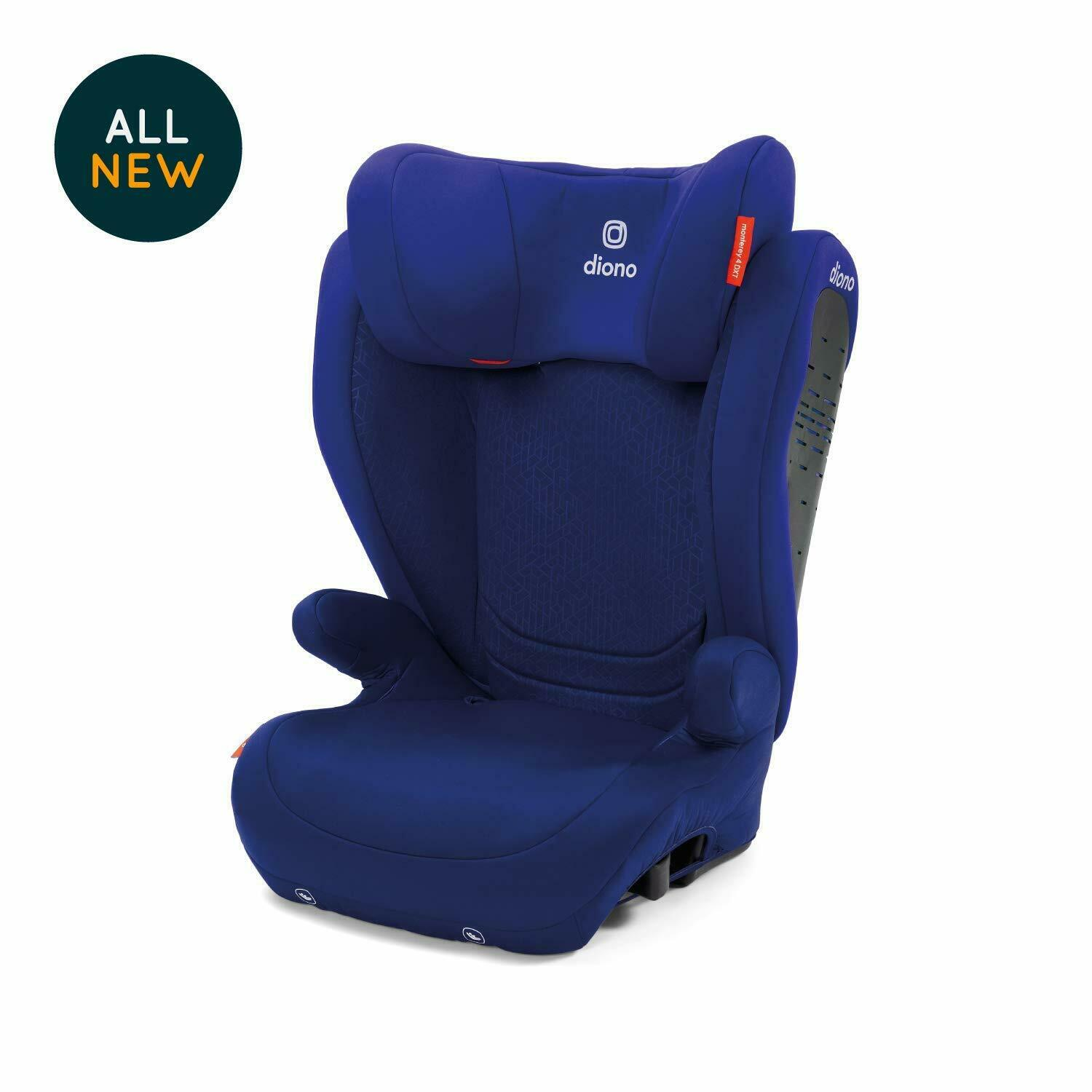 Diono Monterey 4DXT LATCH Booster Car Seat in Blue