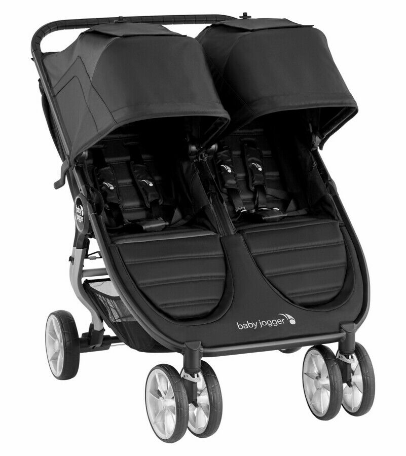 Baby Jogger 2020 City Mini 2 Double Stroller - Jet
