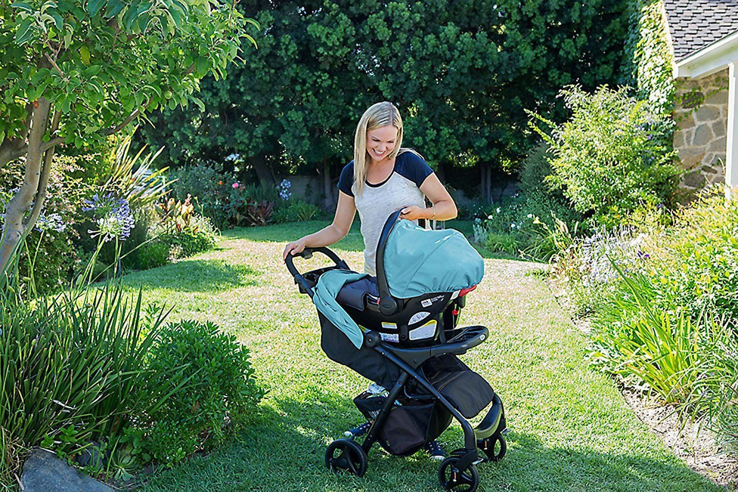 Graco Verb Click Connect Travel System Groove
