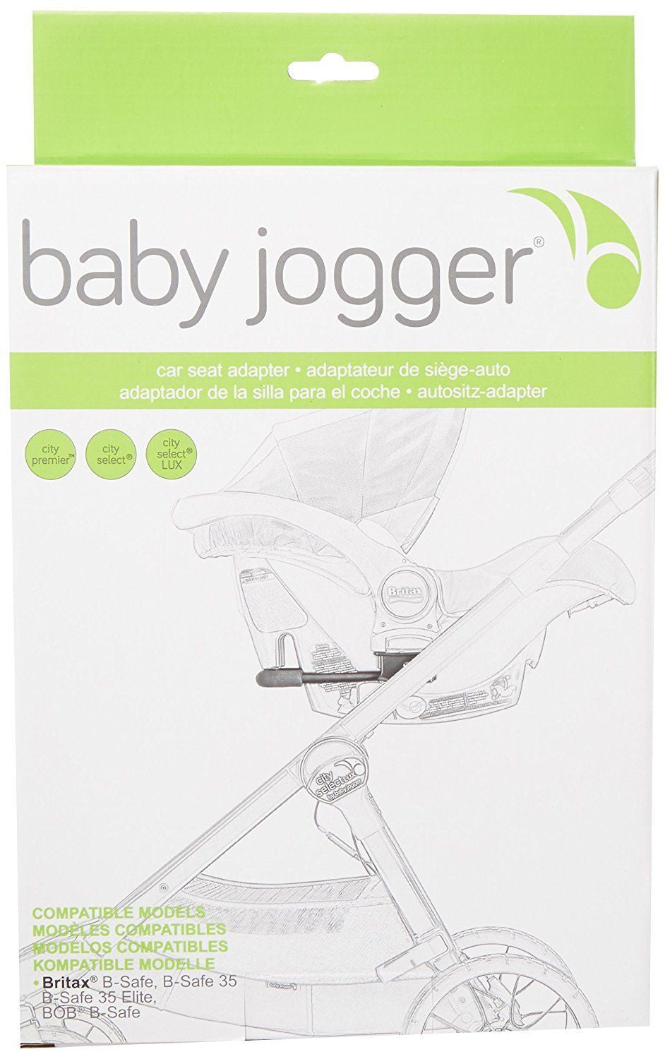 Baby Jogger City Select / LUX Car Seat Adapter - Britax B-Safe