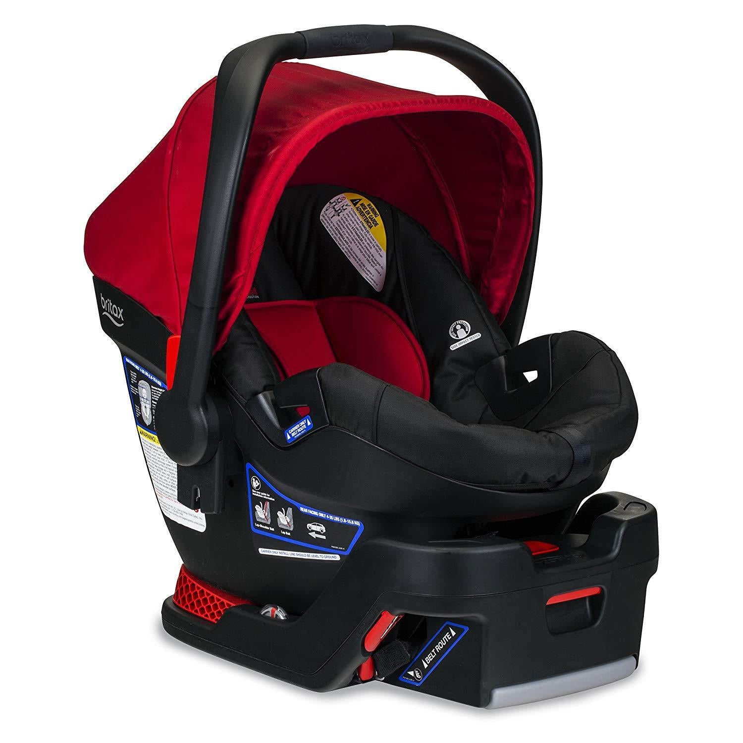 Britax B-Safe 35 Infant Car Seat in Cardinal