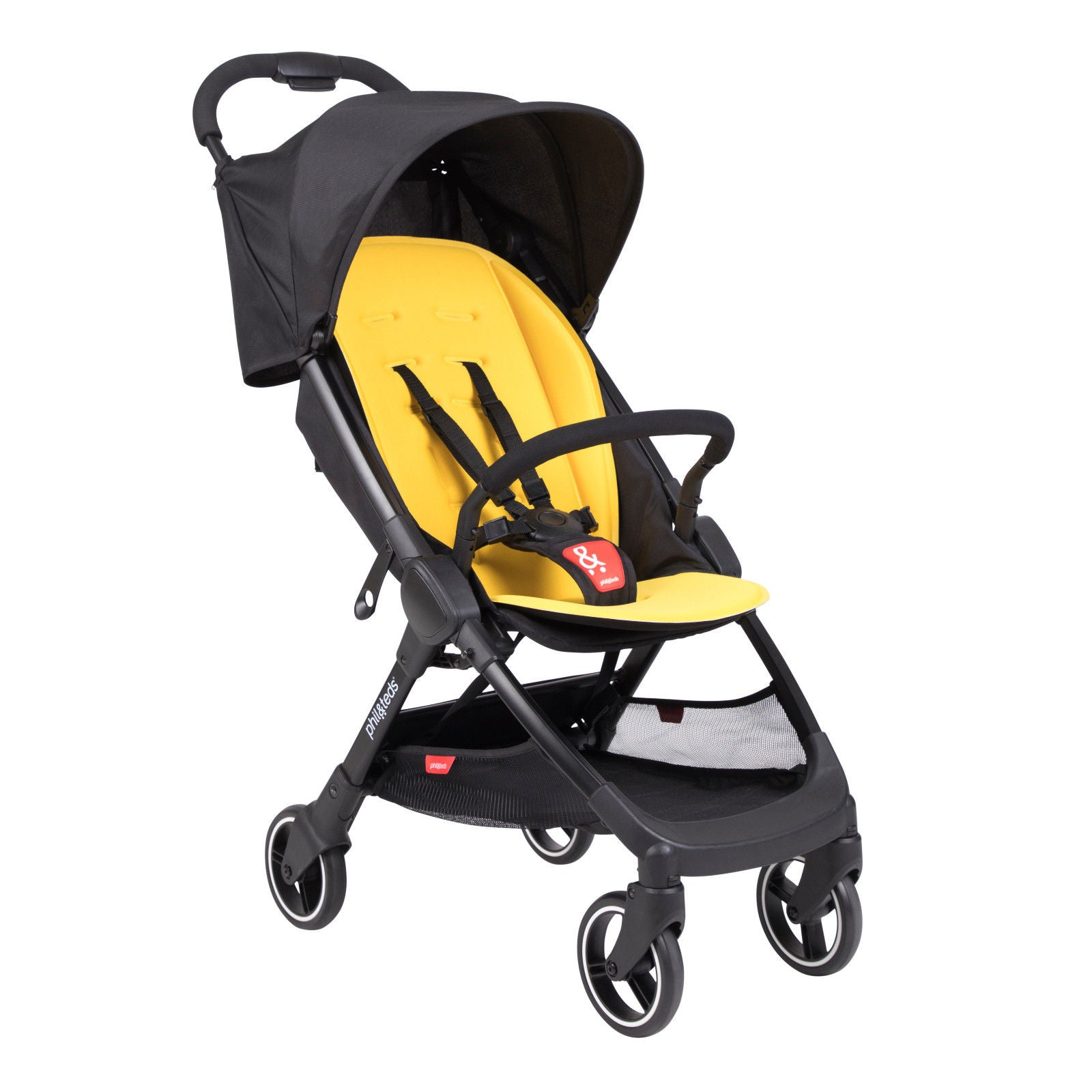 Phil & Teds Go Stroller in Lemon