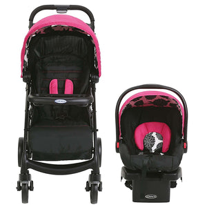 Graco Verb Click Connect Travel System - Azalea