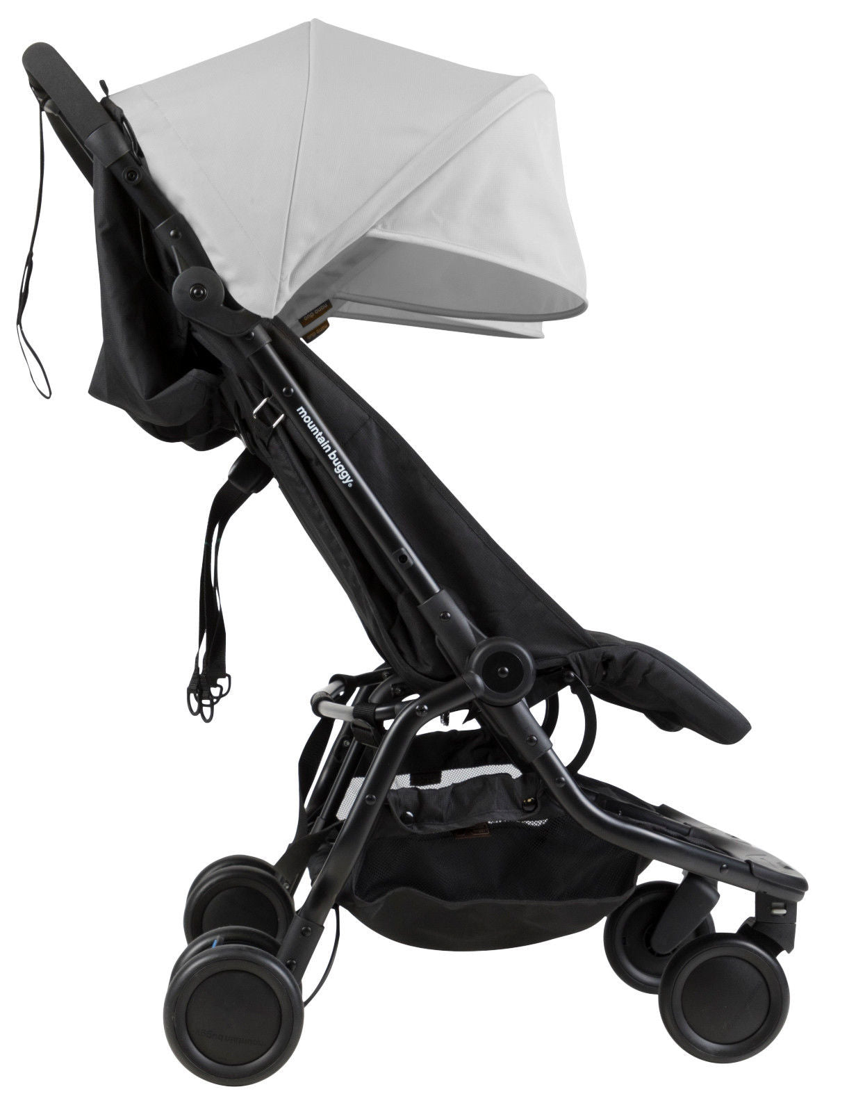 Mountain Buggy Nano DUO Double Stroller, Silver