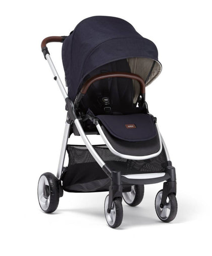 Black Slip On Soft Cover Cushion for MAMAS and PAPAS Bumper Belly Bar Strollers