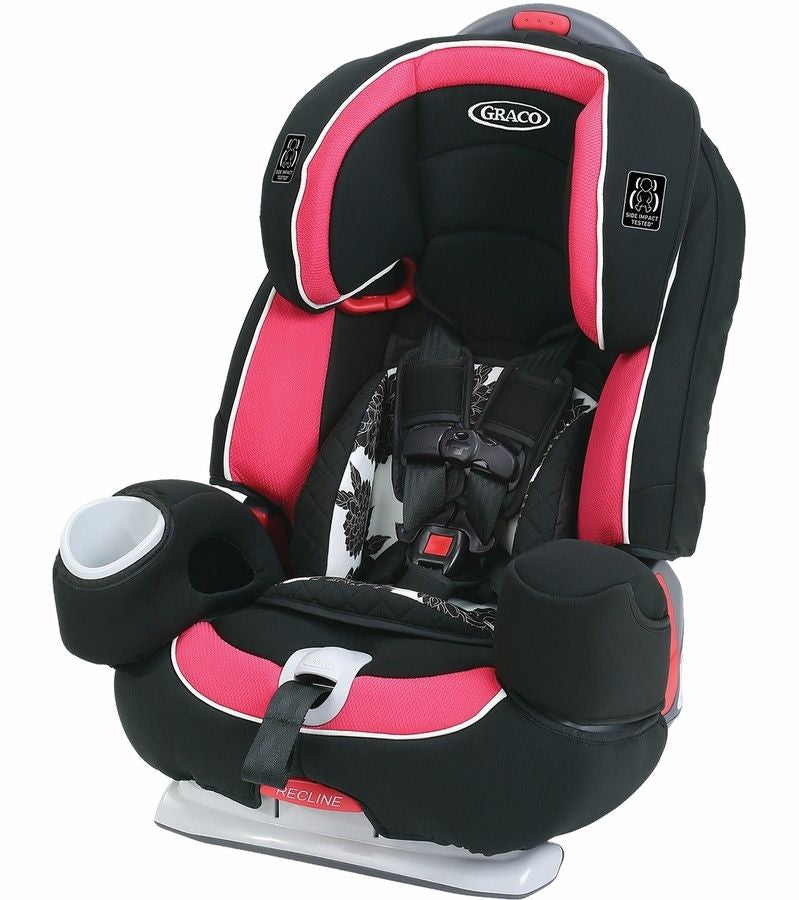Graco Nautilus 80 Elite 3-in-1 Car Seat - Azalea